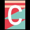 "Colourful ABC Card ""C"""