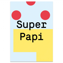 "Greeting Card ""Super Daddy"""