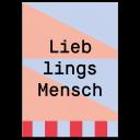 """Greeting Card """"Lieblingsmensch"""""""
