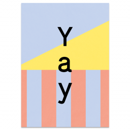 "Greeting Card ""Yay"""