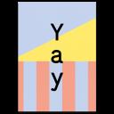 "Grußkarte ""Yay"""
