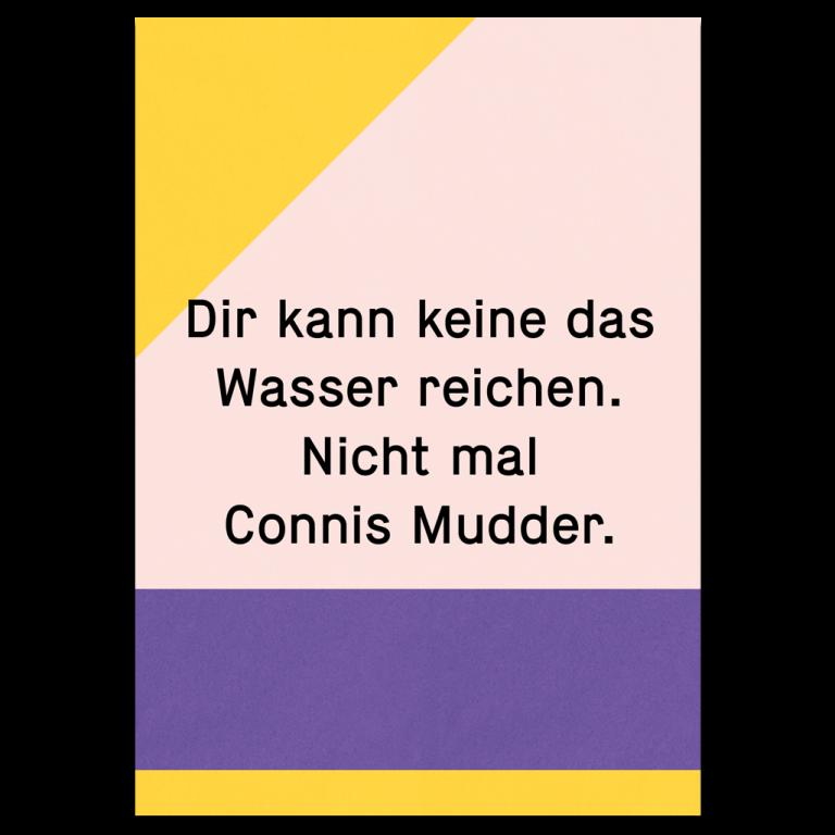 "Grußkarte ""Connis Mudder"""