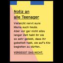 """Postkarte kleine Wahrheiten """"Teenager"""""""