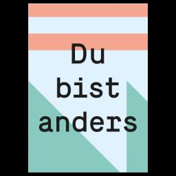 """Grußkarte """"Anders"""""""