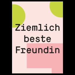 """Grußkarte """"Beste Freundin"""""""