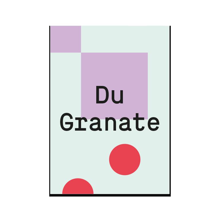 "Grußkarte ""Granate"""