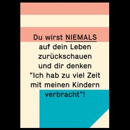 """Grußkarte """"Kinderzeit"""""""